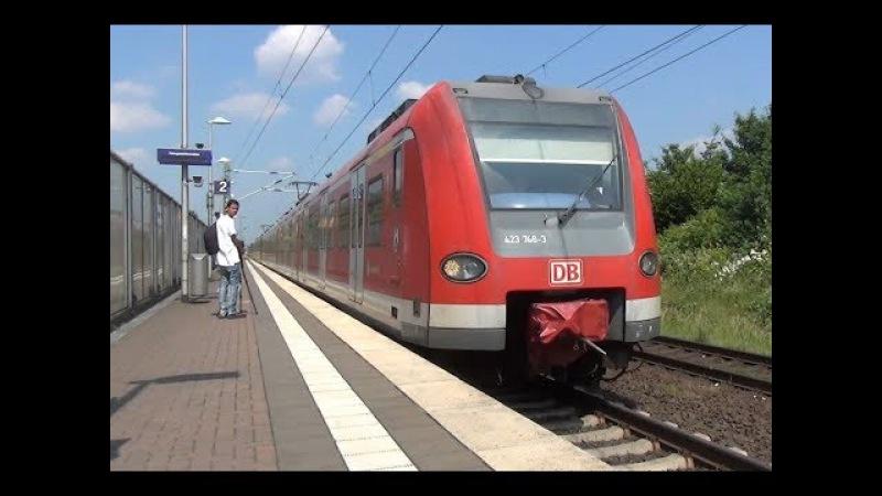 DB 423 748-3 423 258 | S-Bahn Köln | Station Neuss-Allerheiligen