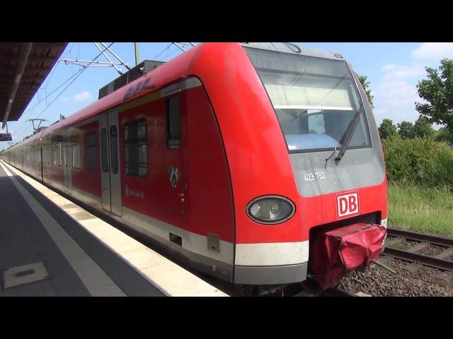 DB 423 762 | S-Bahn Köln | Station Neuss-Allerheiligen
