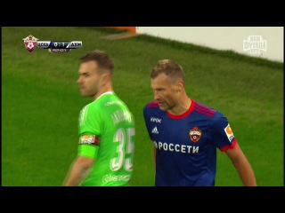 РФПЛ 8-й тур ЦСКА - Ахмат 0:1 обзор 27.08.2017 HD