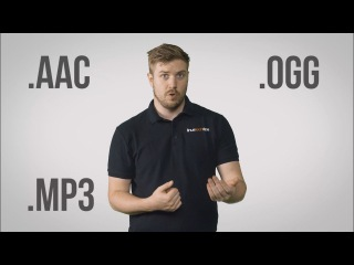 Форматы аудиофайлов – MP3, AAC, WAV, FLAC