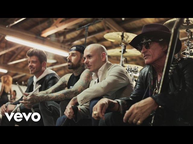 Pitbull - Bad Man (feat. Robin Thicke, Joe Perry, Travis Barker)