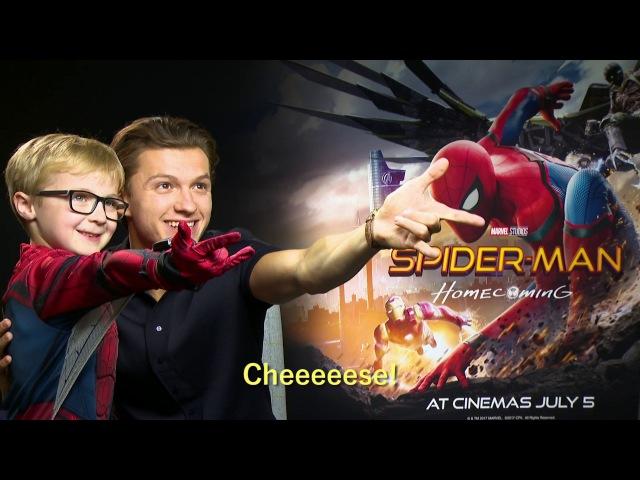 Mini Spider-Man meets Tom Holland Zendaya - OFFICIAL Marvel | HD