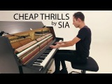 Sia - Cheap Thrills Piano Cover - Peter Bence