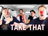 Comic Relief - Take That Carpool Karaoke UK Red Nose Day Special Edition