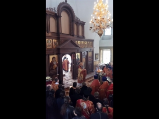 Арамильская проповедь митрополита Кирилла от 19 апреля 2017 года.