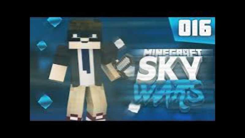 SkyWars на сервере LiteCloud. (Первая моя игра) - IZI ПОБЕДА!