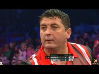 Mensur Suljovic vs Robert Thornton (PDC World Series of Darts Finals 2016 / Round 1)