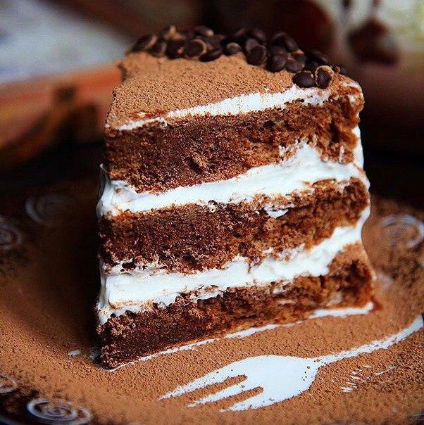 Торт шоколадный рецепт бисквитный