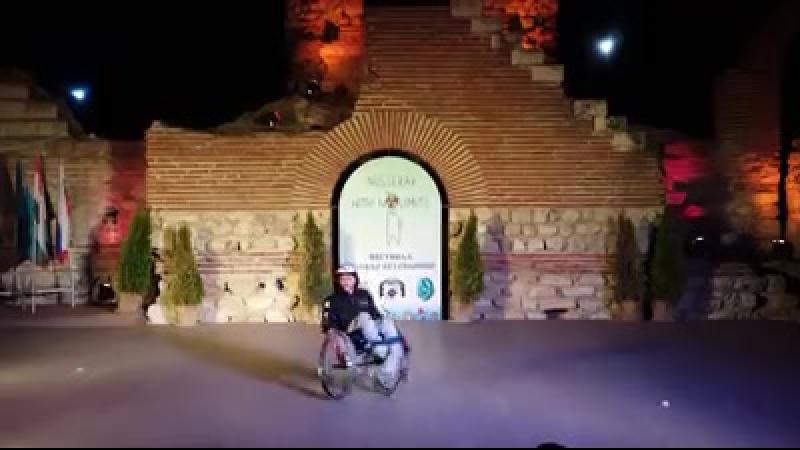 Любимец публики, обаятельнейший Пламен Любенов (г.Варна, Болгария), 1 место в номинации Танец на инвалидной коляске. Соло, 3-и