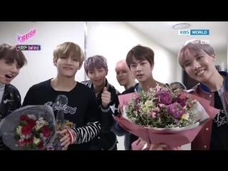 170317 BTS Behind the scenes Music Bank @ K-Rush