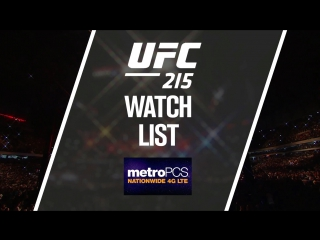 UFC 215  Johnson vs. Borg - Watch List