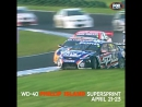 PhillipIsland 2012 Flashback - Will Davison crashing into Jamie Whincup