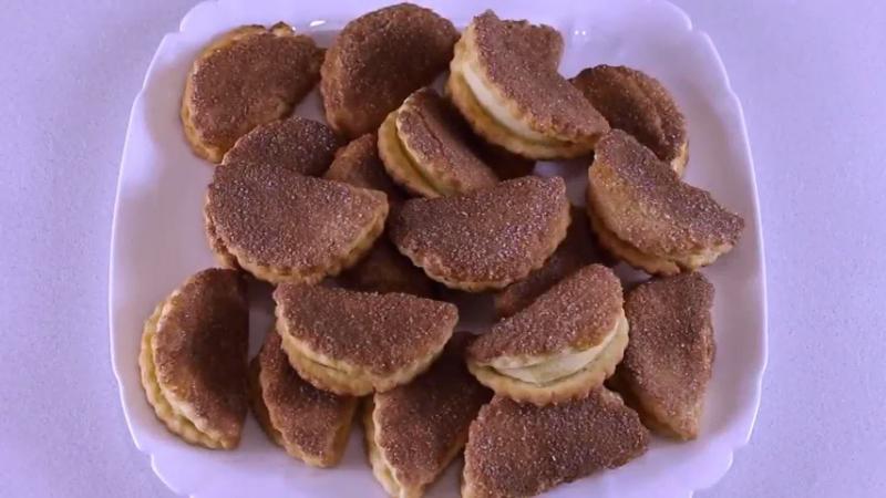 Песочное печенье с яблоками и корицей - Готовь! С Милой Гришкевич