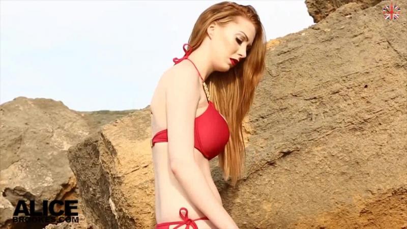 Alice Brookes Nude striptease