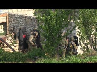 Спецоперация в Буйнакском районе 19.05.2017