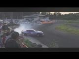 Drift Vine   Nissan Silvia s15 Team MURASAKI backward at matsuri