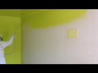 Цветная побелка стен и потолков-и нахуй никаких обоев
