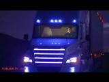 Follow me - D.White. Mercedes robotruck future race mix