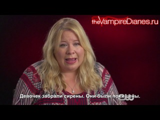 The Vampire Diaries | Inside TVD: Detoured on Some Random Backwoods Path to Hell [Русские субтитры]