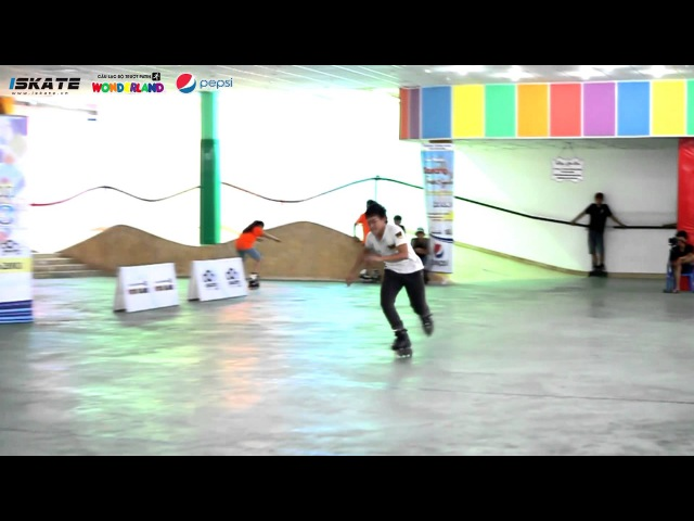 Đà Nẵng Freestyle Skating Competition 2013 Freesytyle Slide - Final