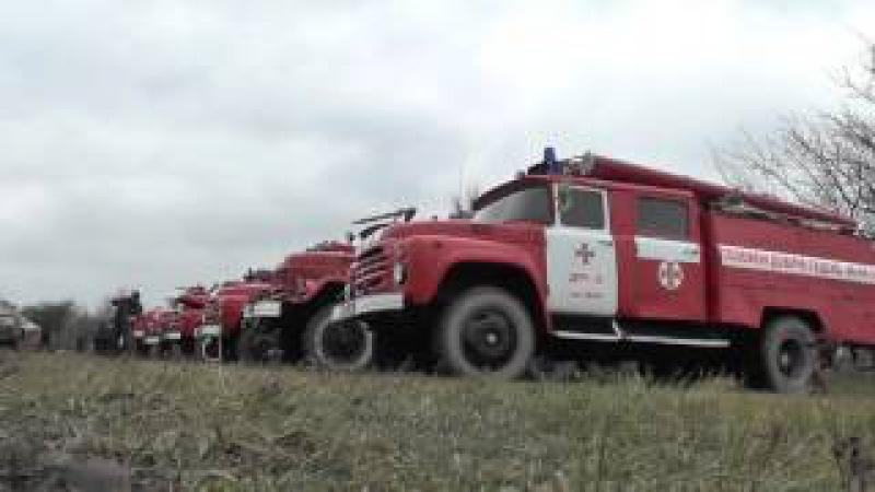 Зведений загін пожежно-рятувальної служби Вінниччини готовий до дій за призначенням