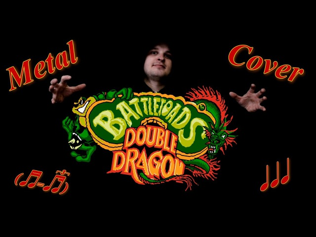 Battletoads Double Dragon Metal Cover by Я.