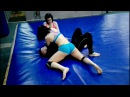 Double mixed wrestling. Two girls Dangerman short version