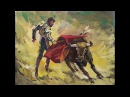 Corrida de toros Andrei Kulagin pinturas y dibujos