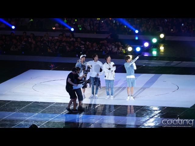 [4K] 161001 H04 B1A4-이게 무슨일이야 직캠(Fancam)/2016 BOF 개막식