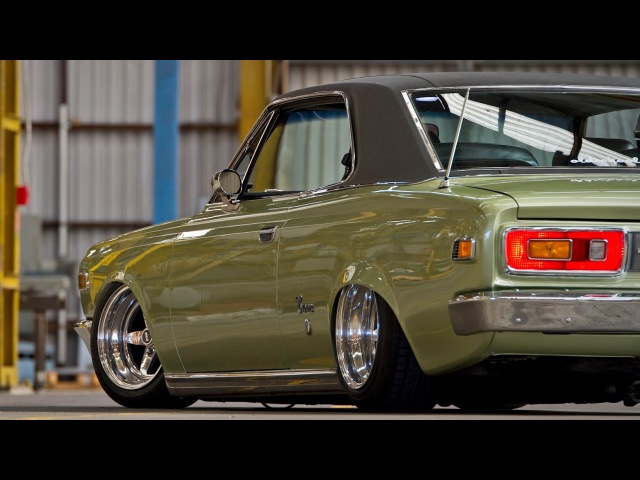 1969 Toyota Crown Hardtop 2.6 litre OHC inline six