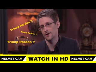 Edward Snowden - Donald Trump Pardon - Latest Interview Russia -