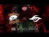 Virtus.pro vs Secret, DreamLeague Season 7, game 1 [Adekvat, 4ce]