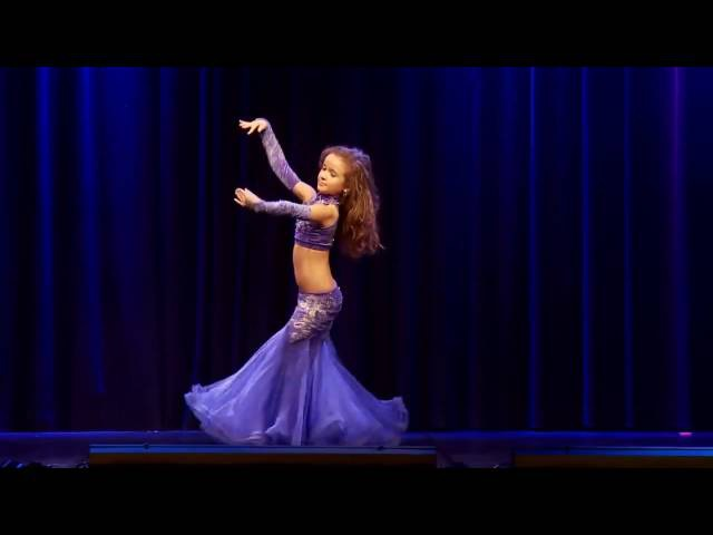 Анастасия Коробова - Ракс Шарки танец живота (10 лет) Anastasiya Korobova