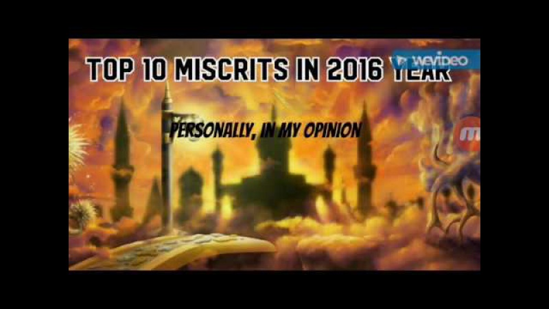 Top 10 miscrits in 2016 year