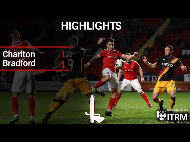 HIGHLIGHTS | Charlton 1 Bradford 1