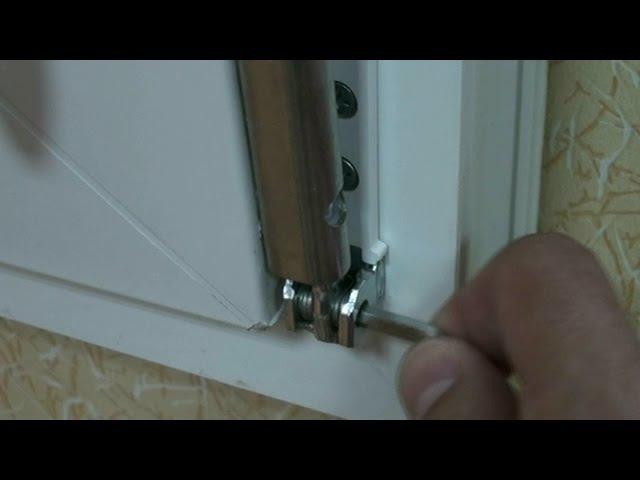 Регулировка нижней петли пластикового окна или балконной двери htuekbhjdrf ybytq gtnkb gkfcnbrjdjuj jryf bkb ,fkrjyyjq ldthb ht