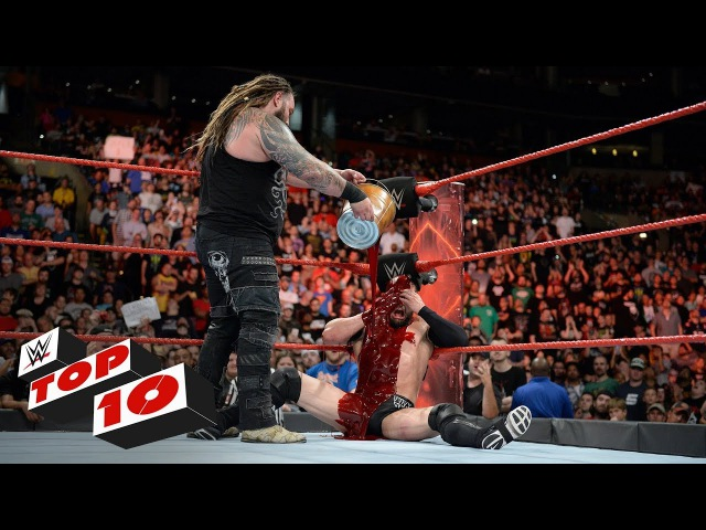 SB_Group| Top 10 Raw moments: WWE Top 10, August 14, 2017