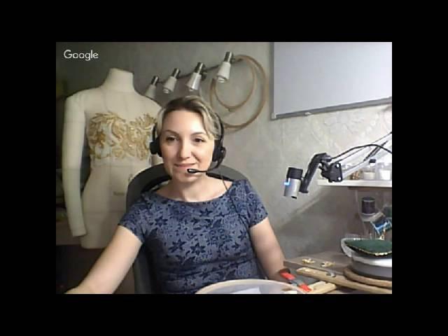Вебинар по вышивке люневильским крючком от Виктории Бойко 5 октября 2016