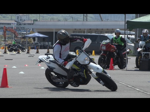 2017 4 16 Moto Gymkhana Training Husqvarna 701 Super Moto