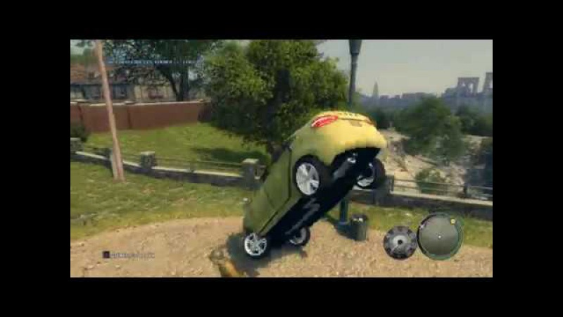 Мафия 2 - Друзья на всю жизнь - Глюки с машиной за пределами карты