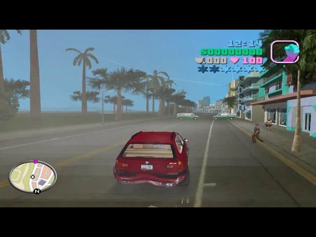 GTA: Vice City DELUXE - Turbo Mod (Gameplay)