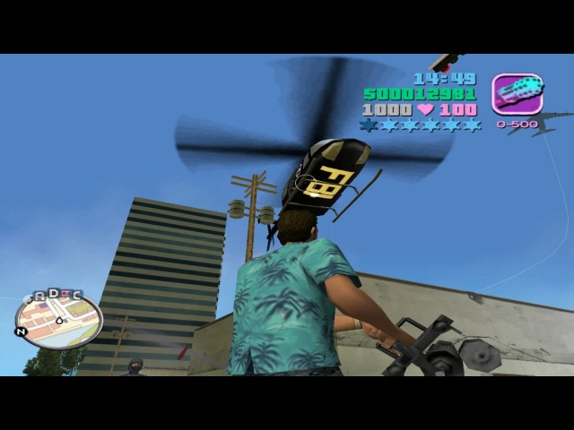 GTA: Vice City Deluxe (2004) - Turbo Mod - Gameplay with Trainer (Cheat)