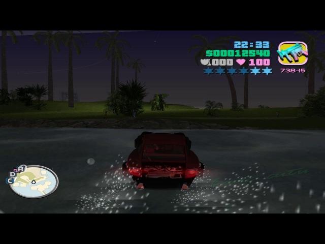 GTA: Vice City DELUXE - Porsche 911 TURBO (Nitro mod)