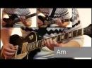 Как играть на гитаре Мертвый анархист - Король и шут ( видеоурок Guitar riffs) табы