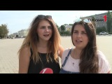 Туляки на улице спели гимн Российской Федерации.