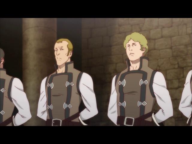 Shingeki no Bahamut ТВ 2 8 серия русская озвучка OVERLORDS / Ярость Бахамута 2 сезон 08