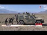На передовой и в тылу: кадры с учений стран ШОС в Киргизии