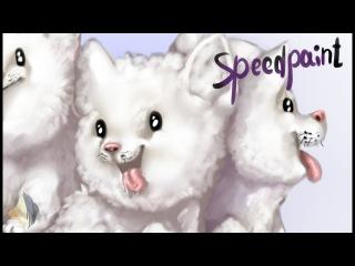 Speedpaint - Woof woof! - (Undertale Fan-art)