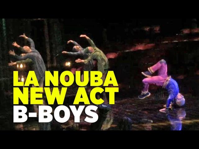 New B-Boy Opening for La Nouba at Disney Springs