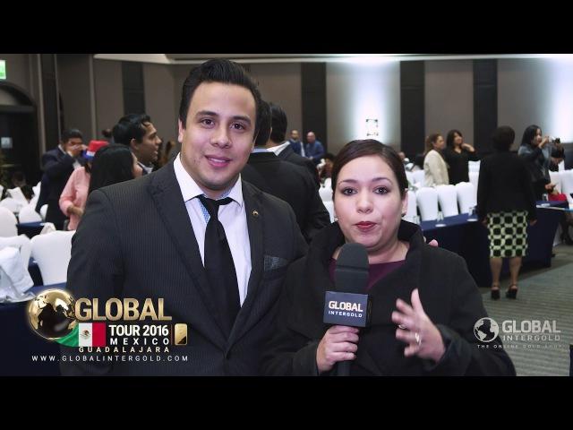 Global InterGold Guadalajara Opinión de Alan Rodríguez y Nidia Magaña